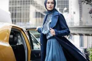 Tesettür Giyimde Mavi Renk Nasıl Kombinlenir?
