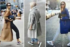 Yeni Trend: Oversized Manto ve Spor Ayakkabı