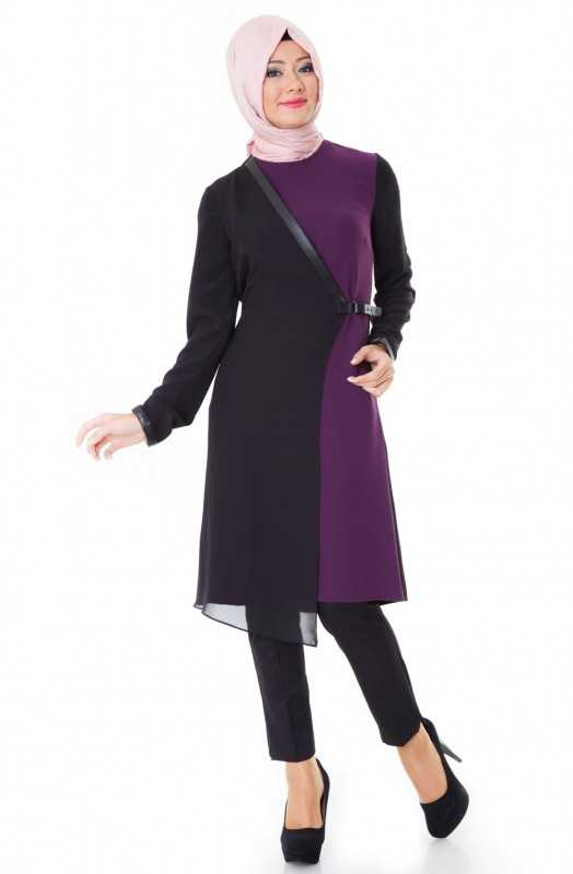 nazenin-butik-Siyah-Gece-için-tunik-modelleri Tesettür Tunik Modelleri