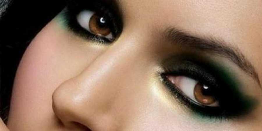 kahvegozler-makyaj-nazendenet Kahverengi tonlarda göz makyajı nasıl yapılır?