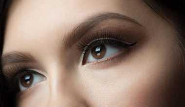 Kahverengi tonlarda göz makyajı nasıl yapılır?